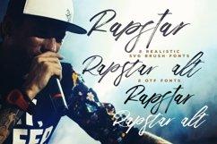 Rapstar Brush & SVG Font Product Image 2