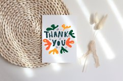 Thank you card Bundle. Thank you card clipart Product Image 3