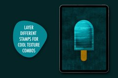 60 Grunge Texture Stamps Photoshop & Procreate Product Image 4