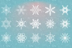 54 Vector Snowflakes Product Image 2