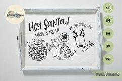 Christmas Hey Santa Cookies for Santa Tray SVG Product Image 2