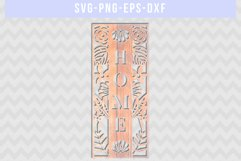 Home SVG Cut File, Housewarming Sign Designs, DXF EPS PNG Product Image 2