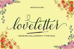 Web Font loveletter Product Image 1