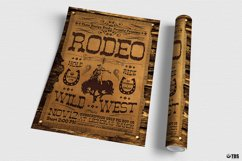 Western Rodeo Flyer Template V2 Product Image 3