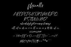 Monalls Script Signature Brush Font Product Image 6