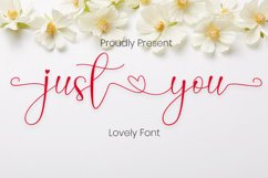 Just You Product Image 1