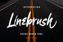 Linebrush - Rough Brush Font Product Image 1