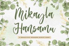 Wedding Script Font - Mikayla Hansamu Product Image 1