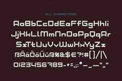 Lost in space. Futuristic typeface Product Image 3