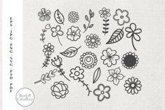 Flower Doodles Product Image 1