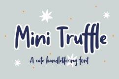 Web Font Mini Truffle - Cute Handlettering Font Product Image 1