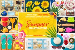 Isolated Summer Items Product Image 1