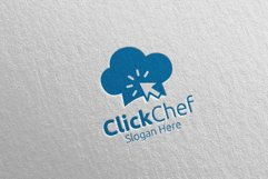 Click Food Logo for Restaurant or Cafe 64 Product Image 1