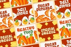 Cheese Sugar a Delicious Font Product Image 5