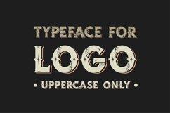 Western OTF vintage label font. Uppercase only! Product Image 2