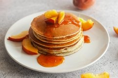 Pancakes with apricot jam Product Image 2