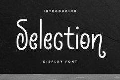 Web Font Selection Font Product Image 1
