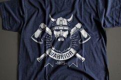 Viking Warrior Logo Template Product Image 3