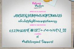 Pulang Malam - Calligraphy Script Font Product Image 6