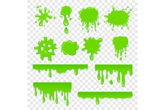 Green slime set Product Image 1