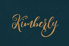Kimberly Script Font Product Image 5