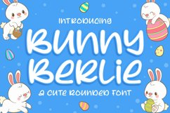 Bunny Berlie - a Cute Rounded Font Product Image 1