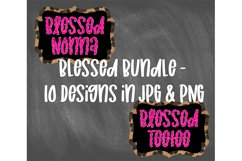 Blessed Bundle - Mother's Day Sublimation Designs Product Image 3