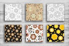 Sun and stars 12 seamless patterns Product Image 4