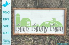 Faith Family Farm- A Pretty Country Craft File Product Image 2
