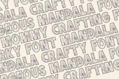 KEYZHA Mandala Font Product Image 4