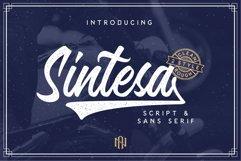 Sintesa - Script And Sans Serif Product Image 1