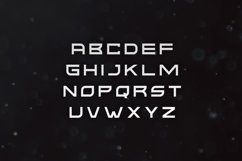 Kusanagi - Futuristic Font Product Image 2
