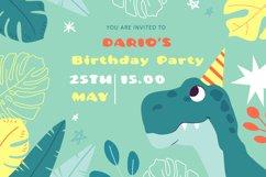 Cute Dino Dinosaur Font Product Image 4