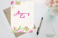 E card Always in my heart Card Instant Download Product Image 3