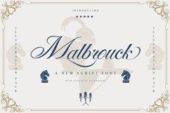 Malbrouck Classic Script Font Product Image 1