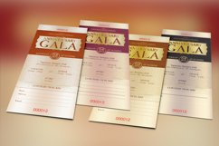 Anniversary Gala Ticket Template Product Image 4