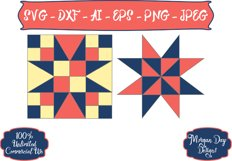 Barn Quilt SVG Product Image 1