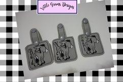 Key Fob Donkey Vinyl Smart Bad Nice Embroidery Designs Product Image 1