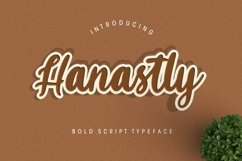 Hanastly Bold Script Product Image 1