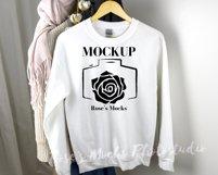 Gildan Sweatshirt Mockup Bundle - Gildan 18000 Mock Up Product Image 3