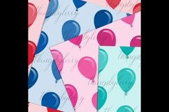 100 Seamless Balloon Pattern Kid Birthday Digital Papers Product Image 6