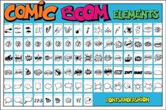 Comic Boom Elements Product Image 2