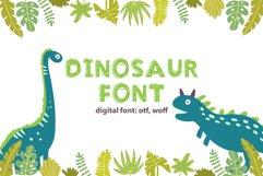 Dinosaur Font Product Image 1