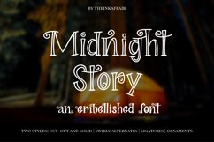 Midnight Story Font Family Product Image 1