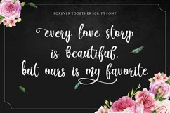 Forever Together - Romantic Font Duo Product Image 2