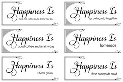 The Happiness Sign Bundle Svg Cut Files Product Image 5
