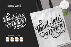 Thank You Doctor | Lettering Quotes Product Image 1