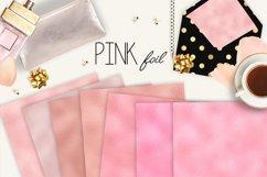 Pink blush digital paper, background Product Image 2