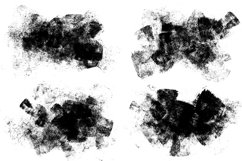 Smeared Ink - 15 Grunge Png Elements Product Image 5