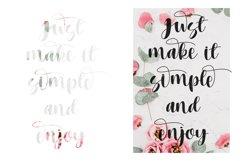 Heritage font script Product Image 3